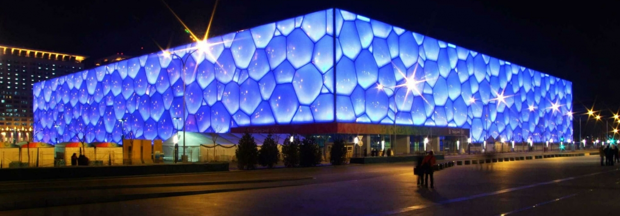 Beijing National Aquatics Center / Watercube – Beijing, China Architecture by PTW Architects