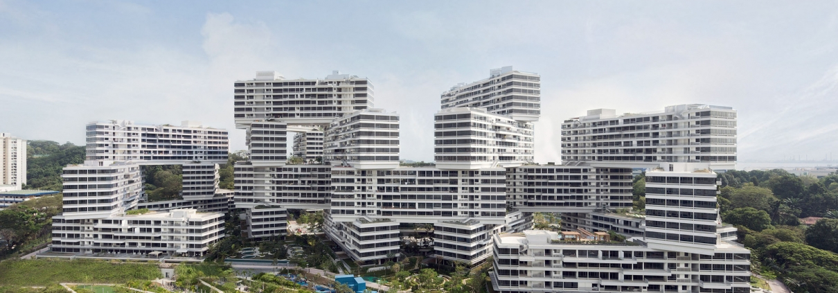 The Interlace – Singapore Architecture by OMA and Ole Scheeren